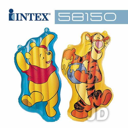 【INTEX】小熊維尼充氣造型浮排-款式隨機 (58150)