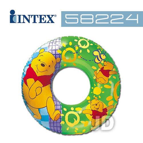 【INTEX】30吋小熊維尼大泳圈-款式隨機 (58224)