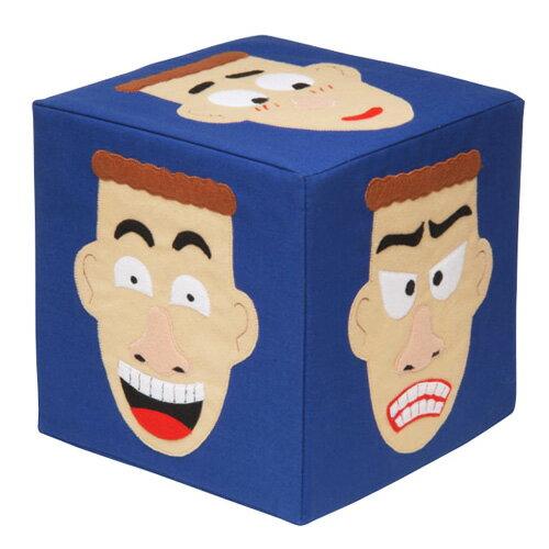 【 KINGDAM 】小凱撒布書系列 -表情先生海棉方塊 11007