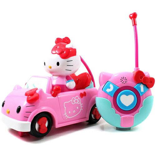 【Hello Kitty 系列】KT遙控小跑車 KT84074
