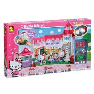 【Hello Kitty 系列】KT歡樂校園積木組 HK3019