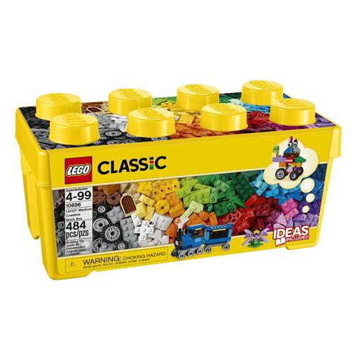 【LEGO樂高積木】Classic系列-樂高中型創意拼砌盒桶 LT 10696
