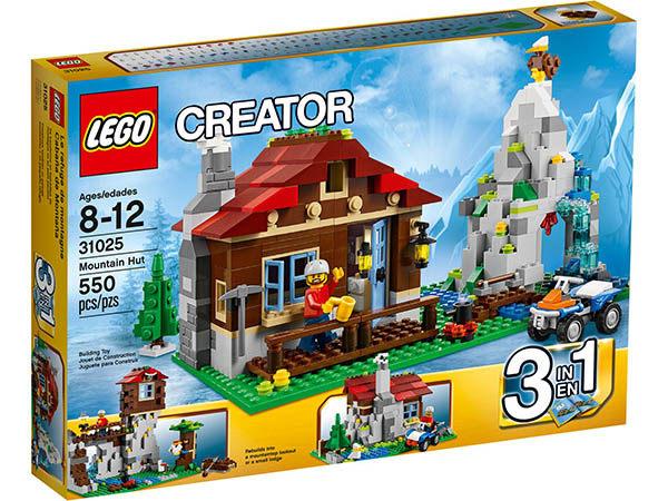 【LEGO 樂高積木】Creator 3合1創作系列 - 山林小屋 LT 31025