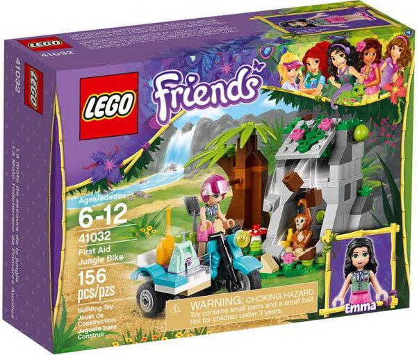 【LEGO 樂高積木】Friends 好朋友系列 - 急救叢林單車 LT-41032