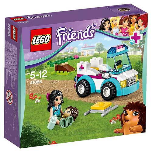 【LEGO樂高積木】Friends系列-獸醫救護車 LT 41086