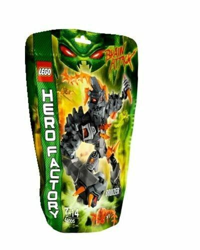 【LEGO 樂高積木】 Hero Factory 英雄工廠系列 - 殺無赦 BRUIZER LT-44005