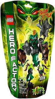 【LEGO 樂高積木】 Hero Factory 英雄工廠系列 - 綠晶魔 OGRUM LT 44007