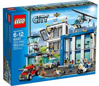 【LEGO 樂高積木】City 城市系列 - 警察局 LT 60047