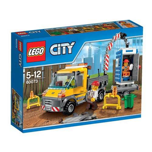 【LEGO 樂高積木】City 城市系列 - 工作卡車 LT 60073