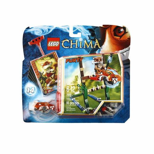 【LEGO 樂高積木】Chima 神獸傳奇系列 - 沼澤跳躍 LT-70111