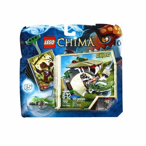 【LEGO 樂高積木】Chima 神獸傳奇系列 - 鱷魚吞噬 LT-70112