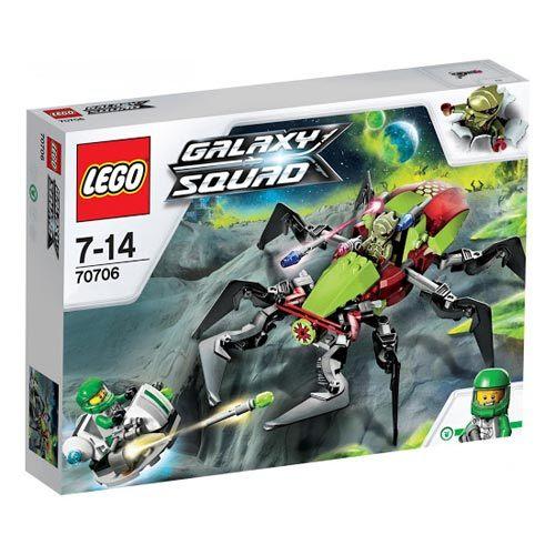 【LEGO 樂高積木】Galaxy Squad 銀河戰隊系列 - 火山口爬蟲怪 LT-70706