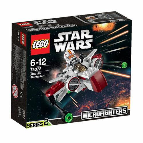 【LEGO 樂高積木】星際大戰系列 - ARC-170 星式戰鬥機 LT-75072