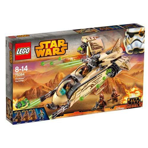 【LEGO 樂高積木】星際大戰系列 - 武裝直升機 LT 75084