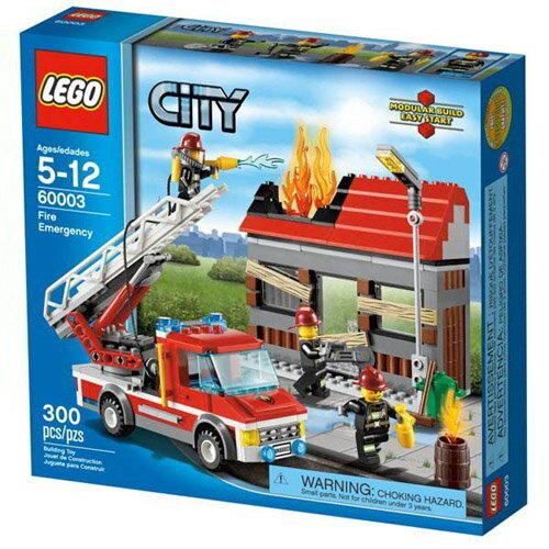 【LEGO 樂高積木】City 城市系列 火警現場 LT 60003