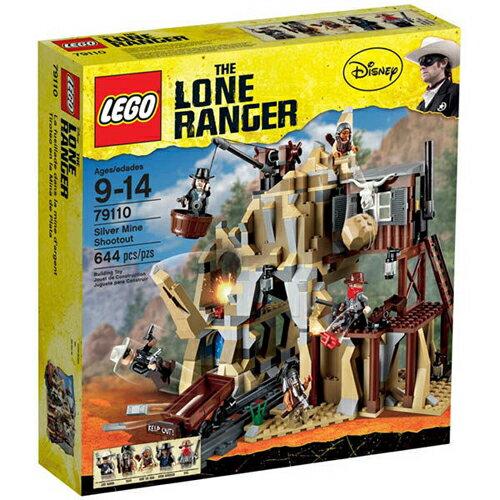 【LEGO 樂高積木】HE LONE RANGER 獨行俠系列-銀礦坑槍戰 Silver Mine Shootout LT 79110
