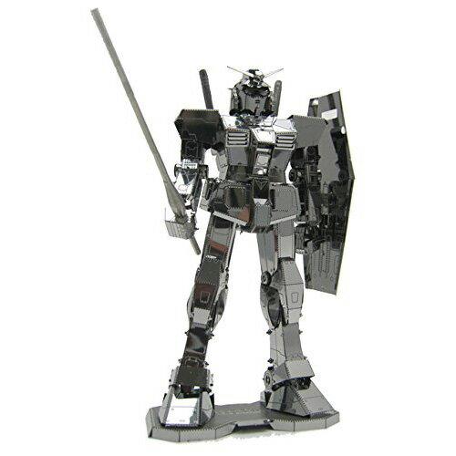 【Metallic nano puzzle 金屬拼圖】TMPG-01 鋼彈RX-78-2 (銀色)