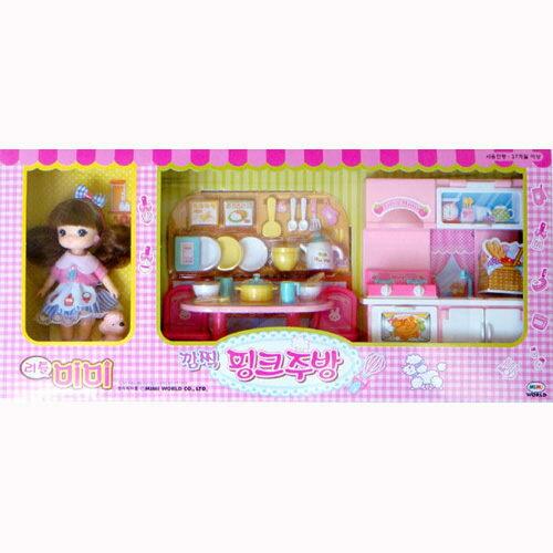 【MIMI WORLD 家家酒系列】迷你 MIMI 粉紅廚房 MI11501