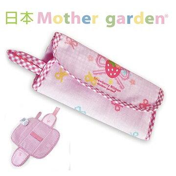 【日本Mother Garden】野草莓餐具收納布袋(不含刀叉) MG000074