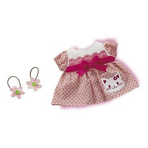 【日本知育洋娃娃】蝴蝶結小貓洋裝組合 (AI-707)