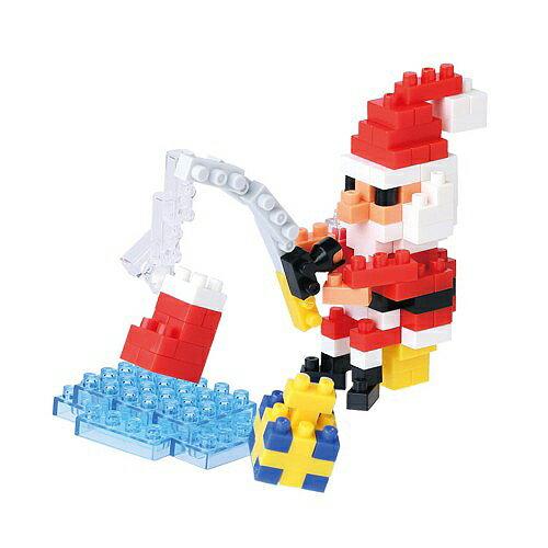 【Nanoblock 迷你積木】NBC-157 釣魚聖誕老公公