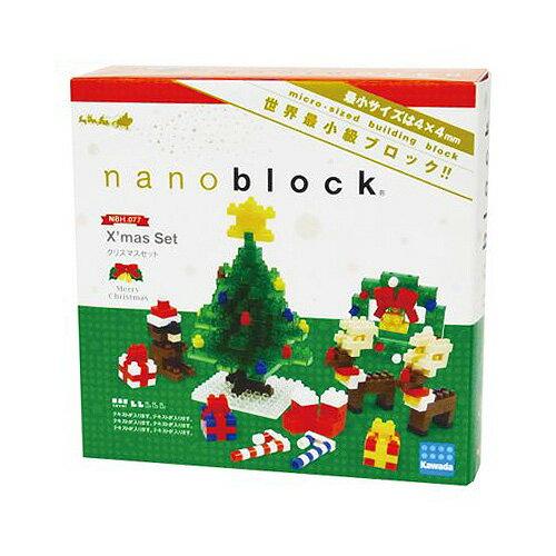 【Nanoblock 迷你積木】NBH-077 聖誕套組2014
