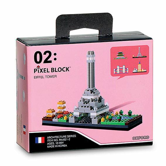 ~OXFORD BLOCK~迷你小積木~世界建築物~巴黎鐵塔 OX00202