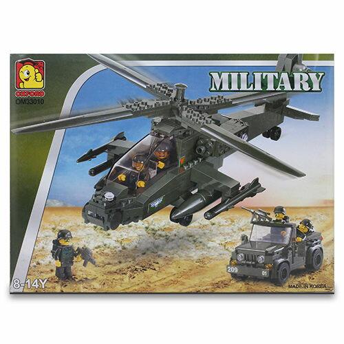 ~OXFORD BLOCK~軍事系列積木組~戰鬥直昇機 OX93010