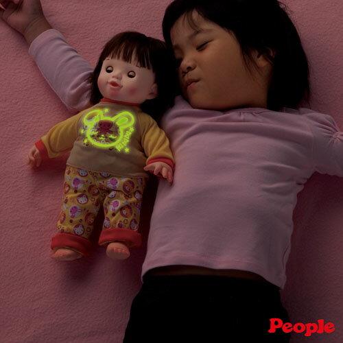 【日本知育洋娃娃】POPO-CHAN 發光睡衣組 AI-184