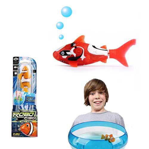 【 ROBO FISH 】歡樂寵物魚 - 暗礁系列 ZR00338 ( 共八款 - 隨機出貨 )
