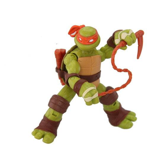 【忍者龜-卡通版】4 吋公仔 - 米開朗基羅 Michelangelo