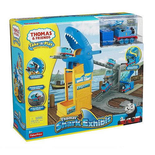 【湯瑪士小火車】帶著走系列 多多島鯊魚樂園歷險軌道組 Y3019