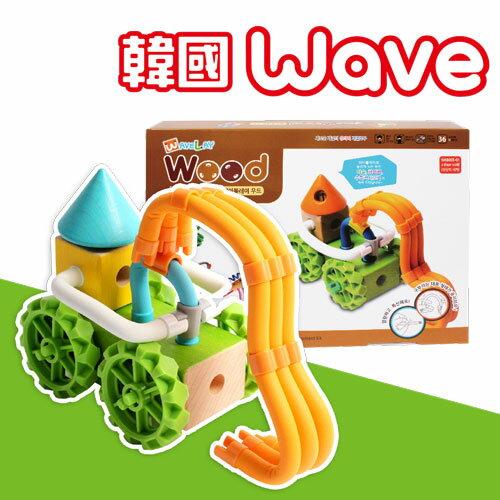 【韓國Wave】魔力建構波波棒中階木質款-奇妙世界 WP000015