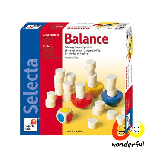 【Selecta 木製遊戲玩具】平衡疊疊樂 BCST0067