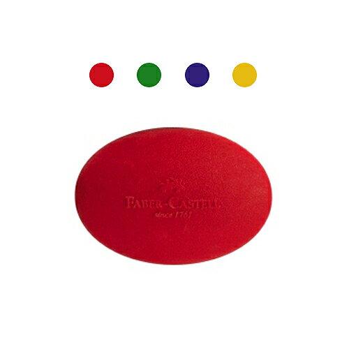 【Faber-Castell 輝柏繪畫系列】可愛貝貝橡皮擦-橢圓形(顏色隨機) 189020