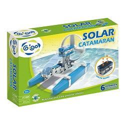 【智高 GIGO】太陽能雙體船 #7398