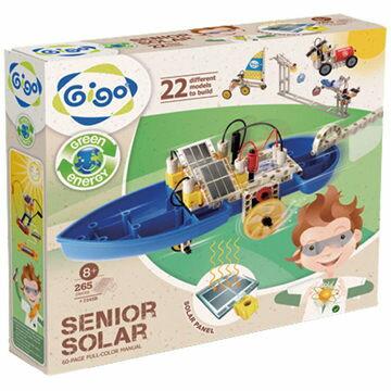 【智高 GIGO】太陽能進階組 (#7345R - CN)