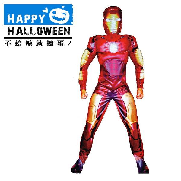 【派對造型服/道具】萬聖節裝扮-鋼鐵超人肌肉裝 F00041100