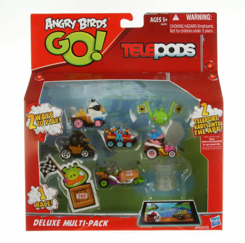【孩之寶流行玩具】憤怒鳥賽車-豪華玩偶包 Angry Birds Go! Deluxe Multi-Pack (A6031)