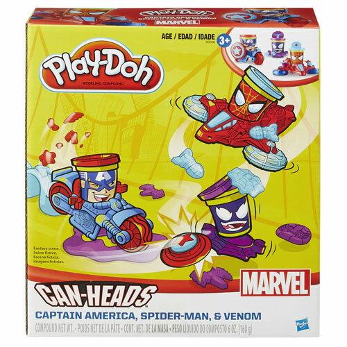 【孩之寶流行玩具】培樂多黏土 漫威英雄交通工具遊戲組 B0606