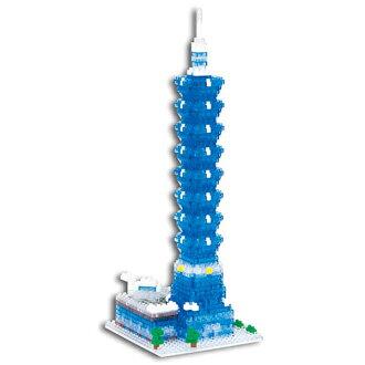 【Nanoblock 迷你積木】台北101大樓 NBH-059