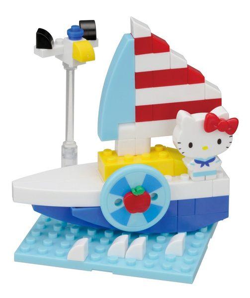 【Nanoblock 迷你積木】HELLO KITTY 遊艇 PK-002