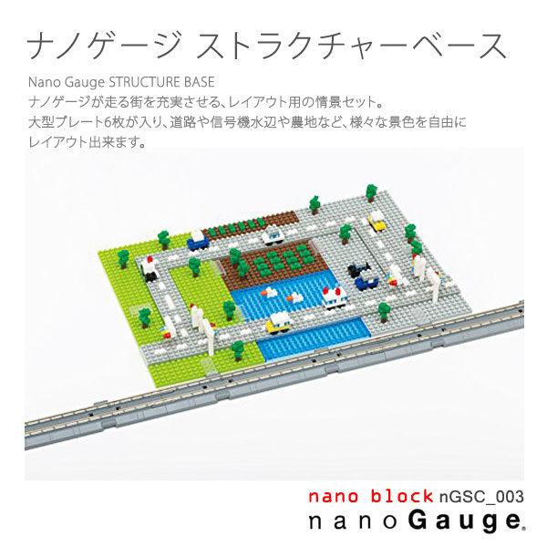 【Nanoblock 迷你積木】nanoGauge 街道基本場景 nGSC-003