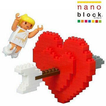 【Nanoblock - 迷你生活系列】LOVE愛神的箭 ML-027