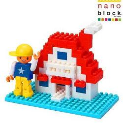 【Nanoblock - 迷你生活系列】新屋入住 ML-029