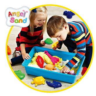 【Angel Sand】5色動力沙模具DIY 組-海洋動物 AS000002