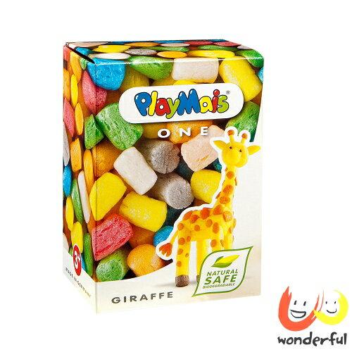 ~Playmais玩玉米創藝黏土~ 玩玉米 黏土小巧盒~長頸鹿 BCPL0006
