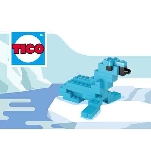 ~Tico微型積木~海獅 ^(9510^)