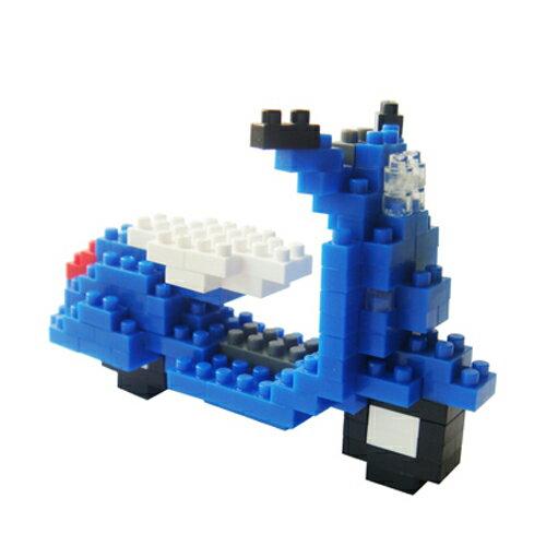 【Tico微型積木】Vespa-藍/124pcs 5104
