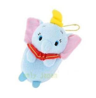 【真愛日本】15041300018限定DN3C萬用袋-Q版小飛象迪士尼小飛象q版萬用袋3c用品小物收納日本帶回